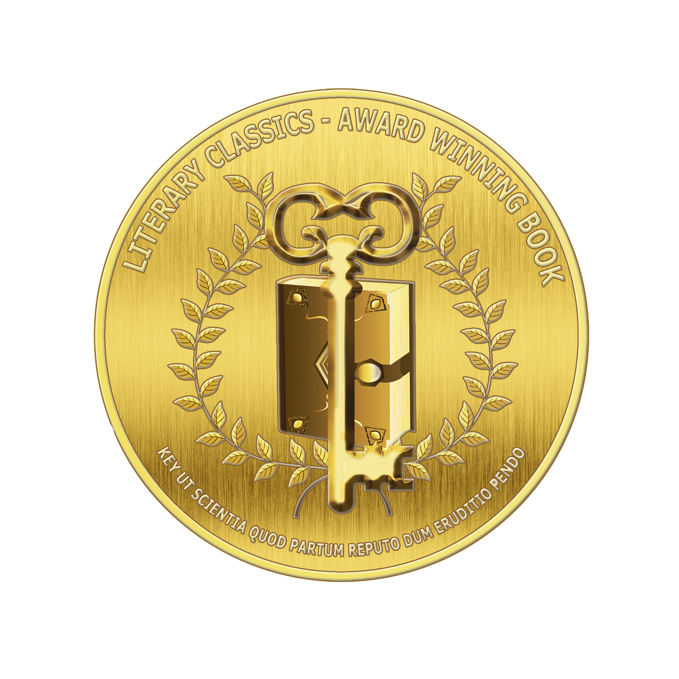 Award Seals Metallic Gold-1